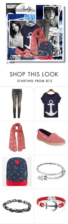 """""""The Robin"""" by anonymousleaf ❤ liked on Polyvore featuring R13, Nautica, JanSport, Alex and Ani and David Yurman"""