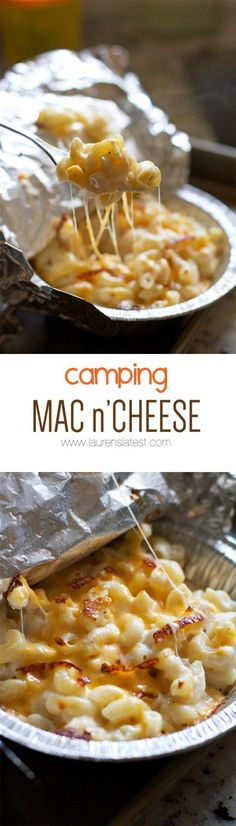 Mac n' Cheese Camping Mac n' Cheese.omg so yummy! The easiest make ahead dinner for camping!Camping Mac n' Cheese.omg so yummy! The easiest make ahead dinner for camping! Cheese Recipes, Cooking Recipes, Camping Desserts, Camping Foods, Backpacking Meals, Camping Dishes, Camping Kitchen, Camping Appetizers, Dinner Recipes