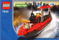 World City - Fire Fighter [Lego 7043]