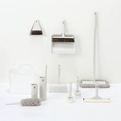 *MUJI 無印良品 minimal cleaning tools