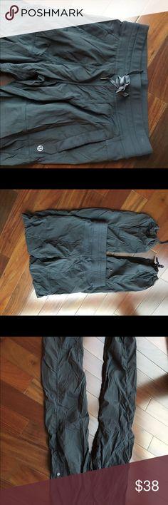 Lululemon Cargo pant  sz4 Nice cargo pant   Excellent used condition lululemon athletica Pants Track Pants & Joggers