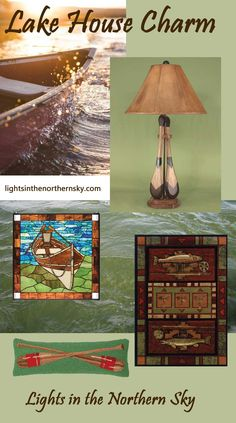 Visit Lights in the Northern Sky to add a touch of lake house to your decor!