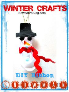 Snowman how to tutorials for a fun diy project with the kids