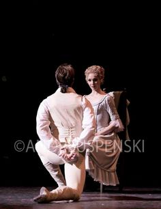 The Royal Ballet's Melissa Hamilton with Matthew Golding in 'Manon' photo by Andre Uspenski