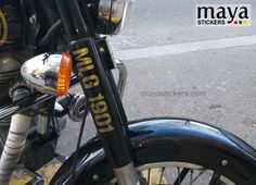 #royalenfield #stickers Royal Enfield Stickers, Enfield Bike, Boxing Live, Enfield Classic, Royal Enfield Bullet, Number Stencils, Instagram Handle, Stencil Designs, Military Fashion