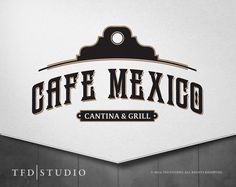 Professionally designed Mexican Restaurant Premade logo available on etsy.com! Only $75!
