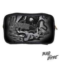 Monster from the Ocean Floor Clutch with Strap