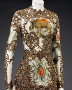 Valentino, Victoria and Albert Museum Christian Lacroix, Victoria And Albert Museum, Frocks, Evening Dresses, Valentino, Fall Winter, High Neck Dress, Costumes, Wedding Dresses