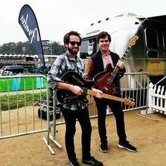 Fender Coronado (Black Cherry Burst) & Fender star caster bass in Black
