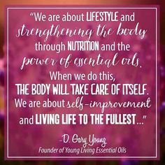 THIS is what Young Living essential oils are about!