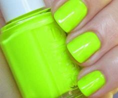 """Essie """"Funky Limelight"""" '09 neon collection √"""