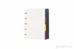 The Filofax Notebook has a flexible cover!
