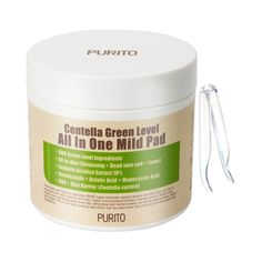 Exfoliators & Scrubs Purito Centella Green Level All In One Mild Pad (Pimple Pad) Cleansing Face Mask, Centella, Mask Makeup, Anti Aging Serum, Wash Your Face, Facial Care, Eye Cream, Pimples, Eyes