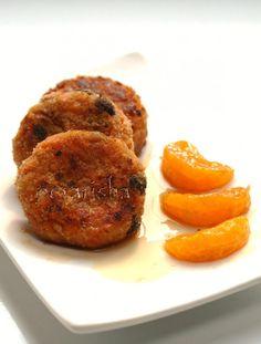 Морковно-яблочные котлеты (постные)