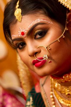 Bridal Makeup by Abhijit..Visit www.ShaadiSimplified.com for top makeup Artists