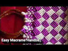 Macrame bag tutorial ( part - 1) - YouTube