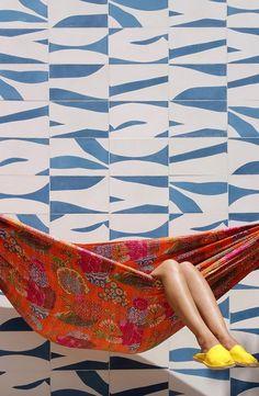 cement tile patterns via popham design Tile Patterns, Textures Patterns, Print Patterns, Tile Design, Pattern Design, Web Design, Design Ideas, Stone Tiles, Cement Tiles