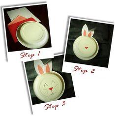 DIY easter crafts DIY Paper Plate Bunny DIY easter crafts