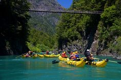 Paddle the Futaleufu River, Los Lagos, Chile Would love to go kayaking here. Rafting, Lonely Planet, In Patagonia, Travel Goals, Small Towns, Travel Guides, South America, Kayaking, Places To See