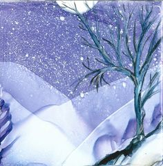 Alcohol Ink Art, Moonlight, Watercolor Art, Color Pop, Art Night, Just For You, Hand Painted, Abstract, Winter