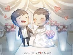 Little cute romance episodes of love and happiness to brighten up your day. Hj Story, Chibi Couple, Couple Cartoon, Cute Love Stories, Love Story, Couple Illustration, Illustration Art, Drawings For Boyfriend, Desenhos Love