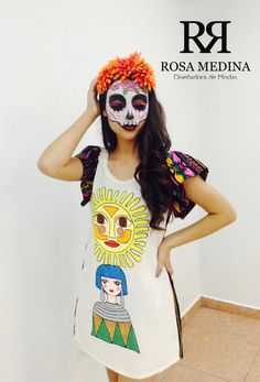 Mexican Fashion Catrina 2016