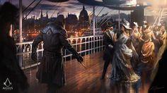 Assassin's Creed: Syndicate Pleasure, Darek Zabrocki on ArtStation at https://www.artstation.com/artwork/KRQ8W