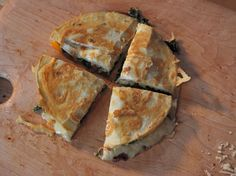 Butternut Squash and Kale Quesadillas Recipe : Ree Drummond : Food Network - FoodNetwork.com