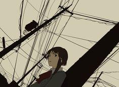 """Iwakura Lain"" | ""Serial Experiments Lain"""