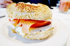 Beautys Luncheonette Montreal 1942 Plateau Mont Royal Must Eat Beautys Special Smoked Salmon Lox Cream Cheese Bagel St Viateur Breakfast Brunch iconic diner Breakfast Diner, Breakfast Bagel, Lox And Bagels, Cheese Bagels, Salmon Lox, Smoked Salmon, Montreal Quebec, Food Blogs, Canada Travel