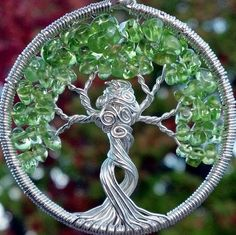 Mother Nature Tree of Life Pendant  Recycled Sterling by ethora, $145.00