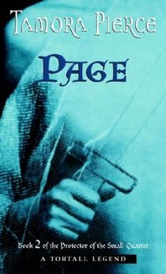 """""""Page"""" Book Two of the """"Protector of the Small"""" tetralogy. By Tamora Pierce. 2007 Random House cover."""