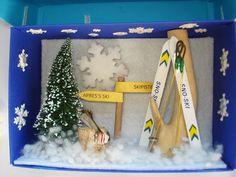Gutschein Skiurlaub von A -Z Bastelshop auf DaWanda.com