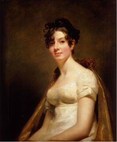 Portrait of Elizabeth Campbell, Marchesa di Spineto, ca. 1812 by Sir Henry Raeburn (Scottish 1756-1823)
