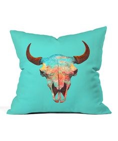 Another great find on #zulily! Turquoise Sky Throw Pillow #zulilyfinds