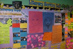 Great literacy working wall from Ecton Brook Primary Year 4 Classroom, Classroom Display Boards, Ks2 Classroom, Classroom Organisation, Classroom Walls, Classroom Displays, Classroom Ideas, Working Wall Display, Literacy Working Wall