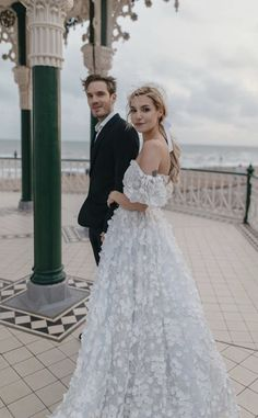 Dream Wedding Dresses, Wedding Gowns, Marzia And Felix, Marzia Bisognin, Cute Couples, Bridal Gowns, Beautiful People, Wedding Inspiration, Wedding Ideas