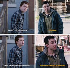Shameless...I hated this scene, there was no reason for it