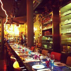 Colorful Miss Ko restaurant