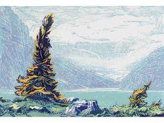 Modern Printmakers: Margaret Shelton: endless summer