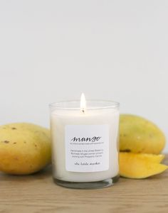 mango candle from The Little Market