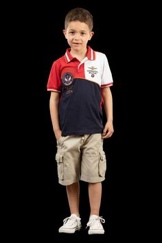 Shop the latest Aeronautica Militare kids' clothing. T-shirt, polos, sweatshirts, trousers with official badges and emblems of the Air Force. Badges, Kids Outfits, Trousers, Dressing, Sweatshirts, Summer, T Shirt, Clothes, Shopping