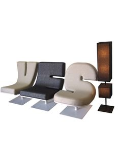 Alphabet Chairs and Punctuation Mark Speakers! | DudeIWantThat.com