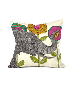 Take a look at this Intricate Elephant Throw Pillow by DENY Designs on #zulily today! $27 !!