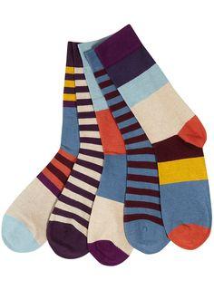 Men's colourful socks