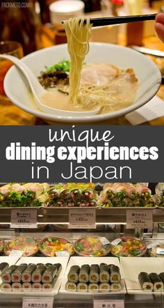 Not To Be Missed Eating Experiences in Japan for Food Lovers | packmeto.com