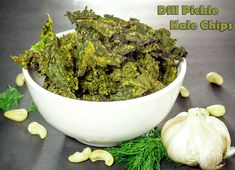 Dill Pickle Kale Chi