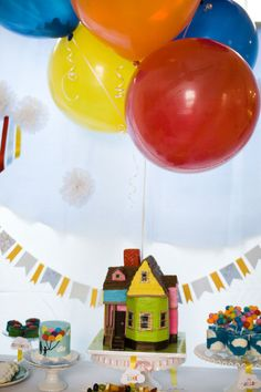 Up Themed Baby Shower and Birthday Party