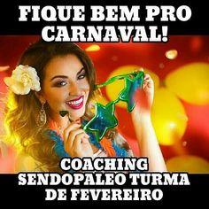 Carnaval tá aí... E o coach do @coachtecomendes também  .  @Regrann from @coachtecomendes -  #Repost @danybettyboop  ABERTAS AS  VAGAS PARA O COACHING SENDOPALEO FEVEREIRO! . . Valores  informações e inscrições : . . . coachdanycastro@sendopaleo.com ( pessoal chequem o spam ok? Todos os e-mails são respondidos no mesmo dia) . . Coaching SENDOPALEO- FEVEREIRO/17 . . Como funciona o Coaching  SendoPaleo? . Atendimento via Skype com uma avaliação inicial com psicóloga . . Atendimento on-line…