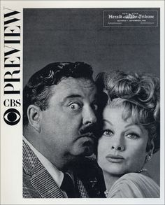 """Jackie Gleason """"the Great One"""" and Lucille Ball """"the Queen of Comedy."""""""